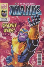 Thanos (2017-2018) #13 Variant I: 5th Printing
