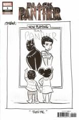 Black Panther (2018-2020) #1 Variant L: Beland B&W Variant