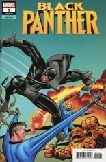 Black Panther (2018-2020) #1 Variant J: Kirby Remastered Variant