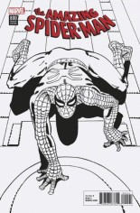 Amazing Spider-Man (2017-2018) #800 Variant R: Remastered B&W Variant