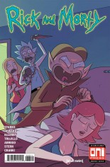 Rick and Morty (2015-2020) #38 Variant A