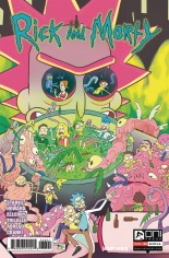 Rick and Morty (2015-Present) #38 Variant B