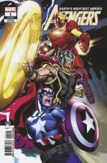 Avengers (2018-2020) #1 Variant J: 2nd Printing