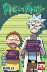Rick and Morty (2015-Present) #39 Variant A