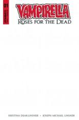 Vampirella: Roses For Dead #1 Variant G: Blank Authentix