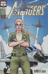 Avengers (2018-Present) #4 Variant B: Carol Danvers 50th Variant