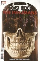 Death Of Inhumans #1 Variant A