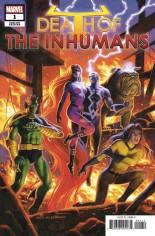 Death Of Inhumans #1 Variant D