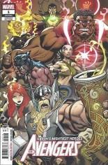 Avengers (2018-Present) #1 Variant K: 3rd Printing