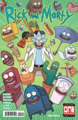 Rick and Morty (2015-2020) #40 Variant A