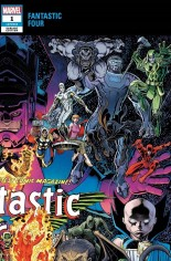 Fantastic Four (2018-Present) #1 Variant C: Connecting Wraparound Variant