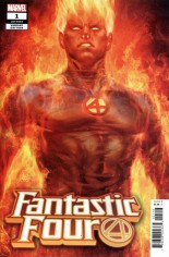 Fantastic Four (2018-2020) #1 Variant H: Human Torch Variant