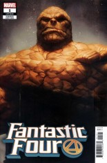 Fantastic Four (2018-2020) #1 Variant G: Thing Variant