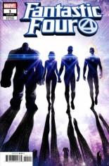Fantastic Four (2018-Present) #1 Variant Y: Teaser Variant