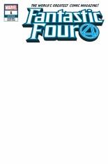 Fantastic Four (2018-Present) #1 Variant R: Blank Variant