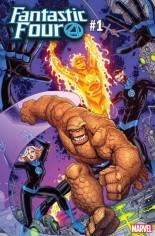 Fantastic Four (2018-2020) #1 Variant J