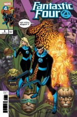 Fantastic Four (2018-2020) #1 Variant N
