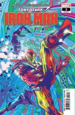Tony Stark Iron Man (2018-2020) #3 Variant A