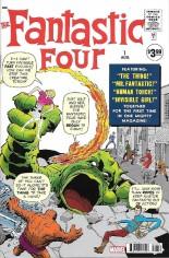 Fantastic Four (2018-2020) #1 Variant ZF: Facsimile Edition