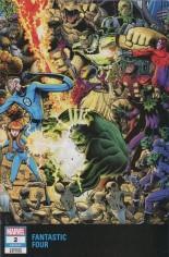 Fantastic Four (2018-2021) #2 Variant D: Connecting Wraparound Variant