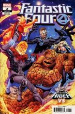 Fantastic Four (2018-2021) #2 Variant C: Cosmic Ghost Rider Variant