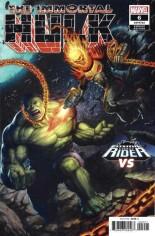 Immortal Hulk #6 Variant B: Cosmic Ghost Rider Variant