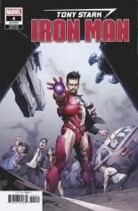 Tony Stark Iron Man (2018-2020) #4 Variant C