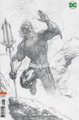 Justice League (2018-2021) #10 Variant C: Pencil Variant Cover