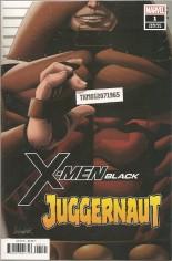 X-Men Black: Juggernaut #1 Variant B: Mugshot Variant