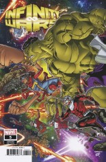 Infinity Wars #5 Variant D: Connecting Variant