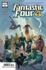 Fantastic Four (2018-Present) #3 Variant A