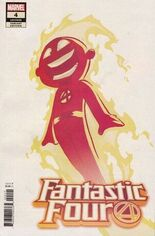 Fantastic Four (2018-2020) #4 Variant B