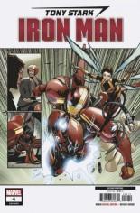 Tony Stark Iron Man (2018-2020) #4 Variant D: 2nd Printing