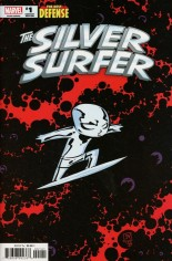 Silver Surfer: The Best Defense #1 Variant D
