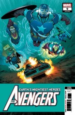 Avengers (2018-Present) #9 Variant E: 2nd Printing