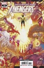 Avengers (2018-2020) #10 Variant K: 2nd Printing