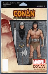 Conan The Barbarian (2019-2020) #1 Variant C: Action Figure Variant