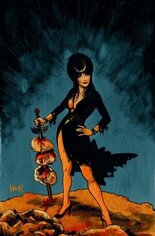 Elvira, Mistress of the Dark (2018-2020) #4 Variant H: 20 Copy Virgin Incentive
