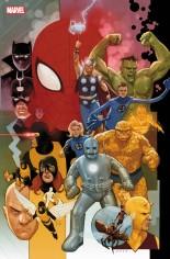 Avengers (2018-2020) #12 Variant B: Marvel 80th Variant