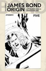 James Bond: Origin #5 Variant F: 10 Copy B&W Incentive