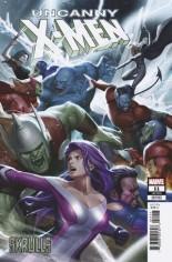 Uncanny X-Men (2019-Present) #11 Variant J: Skrulls Variant