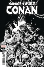 Savage Sword Of Conan (2019-2020) #1 Variant C: B&W Variant