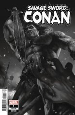 Savage Sword Of Conan (2019-2020) #1 Variant B: B&W Variant