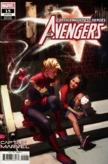 Avengers (2018-Present) #15 Variant B: Captain Marvel Variant