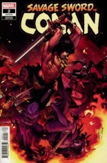 Savage Sword Of Conan (2019-2020) #2 Variant B