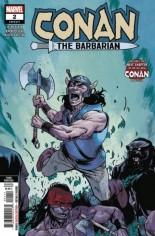 Conan The Barbarian (2019-2020) #2 Variant G: 3rd Printing