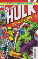 Incredible Hulk (1968-1999) #181 Variant H: Facsimile Edition