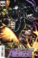 Avengers (2018-2021) #29 Variant C: 2nd Printing
