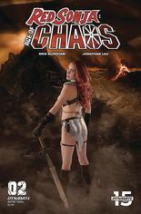 Red Sonja: Age Of Chaos (2020) #2 Variant E: Shannon Kingston Cosplay Photo Cover