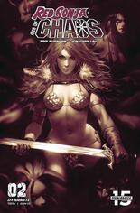 Red Sonja: Age Of Chaos (2020) #2 Variant H: Incentive Monochromatic Cover